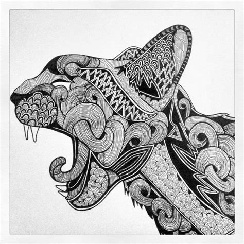 1000 Images About Zentangle Animals Dibujos   1000 images about art cat zentangle on pinterest cats