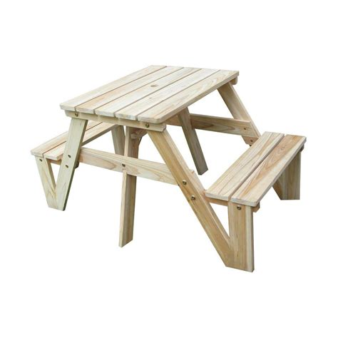 polywood plastic patio picnic table kt130ma the