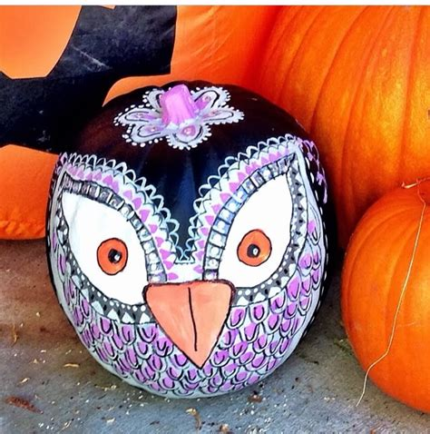 taylor joelle designs pumpkin painting