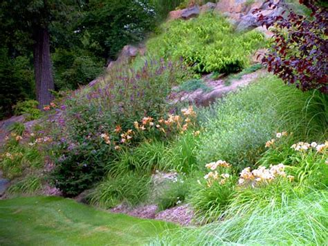Steep Slope Garden Ideas Landscaping Ideas Pictures For Steep Slopes Pdf
