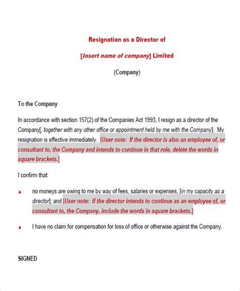 Resignation Letter For Director Of Nursing 65 Sle Resignation Letters