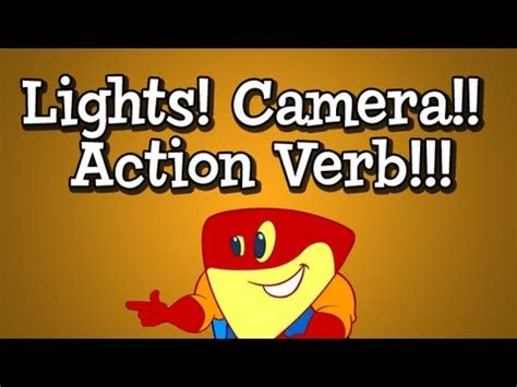 lights camera action song mr folkes parts of speech nouns verbs and adjecti