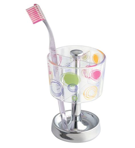 doodle design bathroom toothbrush holder in toothbrush holders