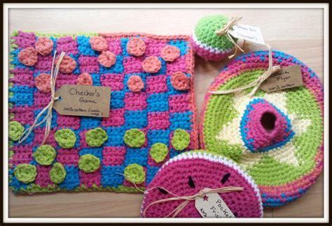 crochet pattern video game double treble craft adventures crochet tic tac toe game