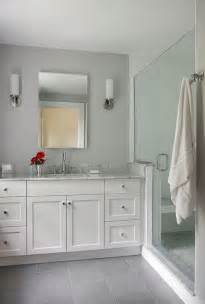 Grey And White Bathroom Tile Ideas 37 Light Grey Bathroom Floor Tiles Ideas And Pictures
