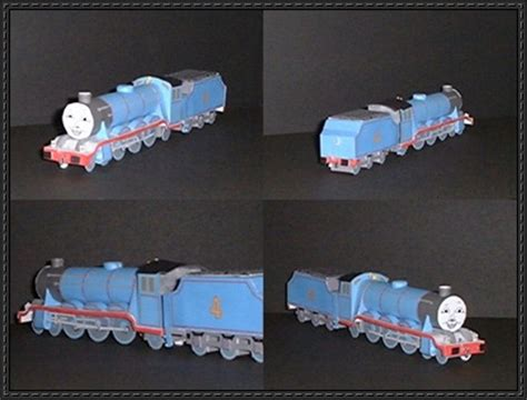 new paper model themed locomotive and a free
