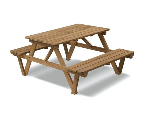4ft teak picnic bench all garden benches