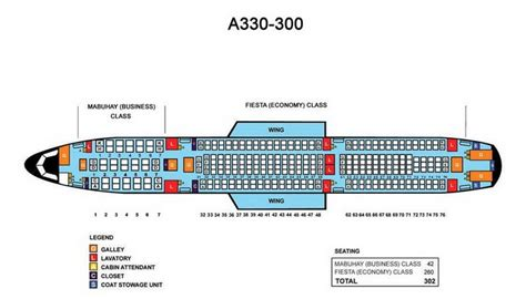 a330 seating philippine airlines airbus a330 300 aircraft seating chart