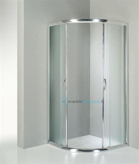 doccia semicircolare box doccia semicircolare 90x90 cm opaco
