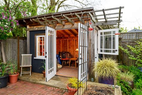 stylish urban garden sheds seattle met