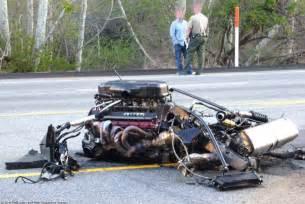 Crashed Enzo Enzo Crash In Malibu