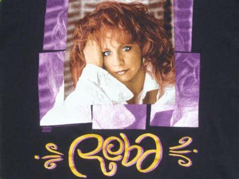 reba mcintire clothes vintage 1994 reba mcentire concert tour black t shirt l