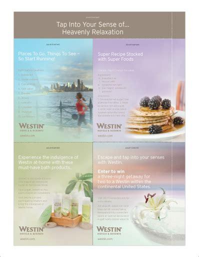 Westin Hotel Gift Card - self magazine body bonus cards ursula jaroszewicz
