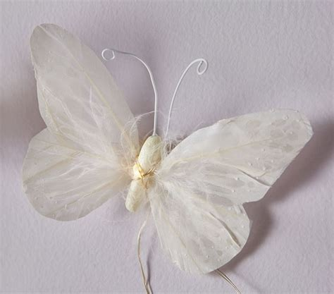 Butterfly String - feather butterfly string lights pottery barn