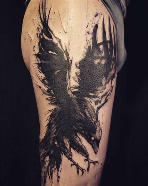 ravens tattoo forearm tattoos forearm