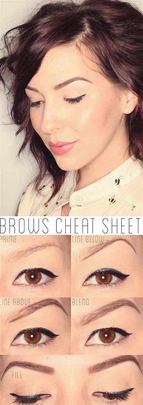 html get tutorial how to get the perfect brows tutorial keiko lynn