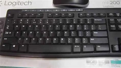 Keyboard Logitech Mk200 review of logitech mk200 media combo
