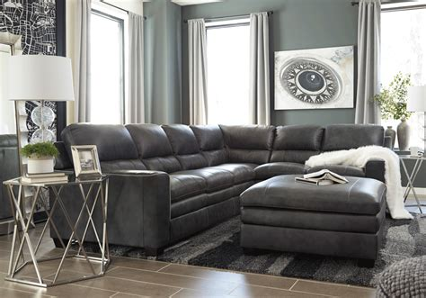 Laf Sofa Sectional Gleason Charcoal 2pc Laf Sofa Sectional Evansville