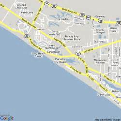 map of panama city united states hotels accommodation