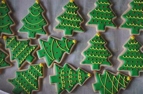 christmas tree cookies the cute cookie