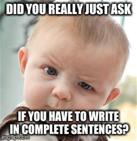 Meme Sentences - skeptical baby meme imgflip