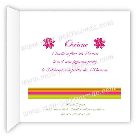 Modèles De Lettre D Invitation à Un Anniversaire Invitation Anniversaire Oc 233 Ane Mon Petitmonde