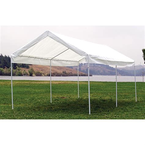 mac sports 174 10x20 canopy carport 151420 screens