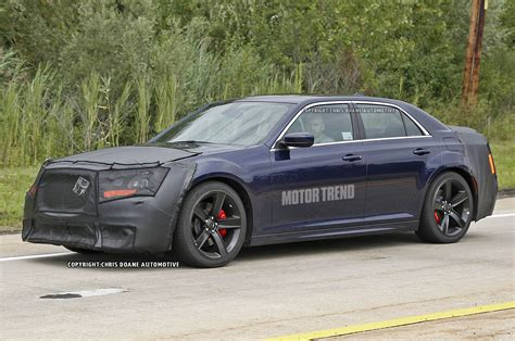 2015 chrysler 300 srt8 prototype front three quarter view