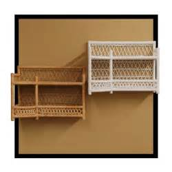 Wicker Shelves For Bathroom Wicker Bathroom Wall Shelf In Honey Or White