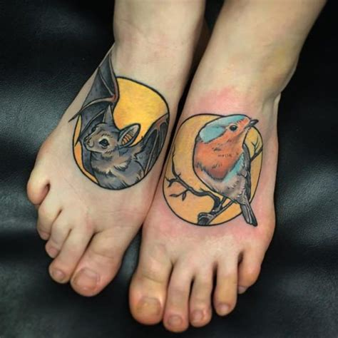 average cost of small tattoo 125 most popular foot tattoos for