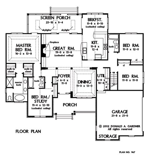 don gardner floor plans plan of the week the satchwell houseplansblog