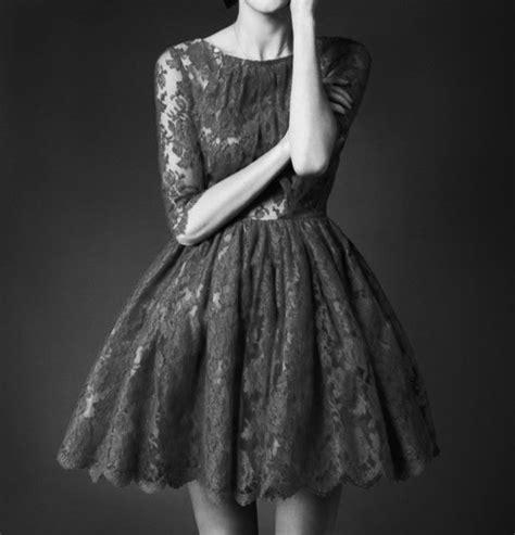 Black And White Vintage Dress beautiful dress black and white dress fashion image 575644 on favim