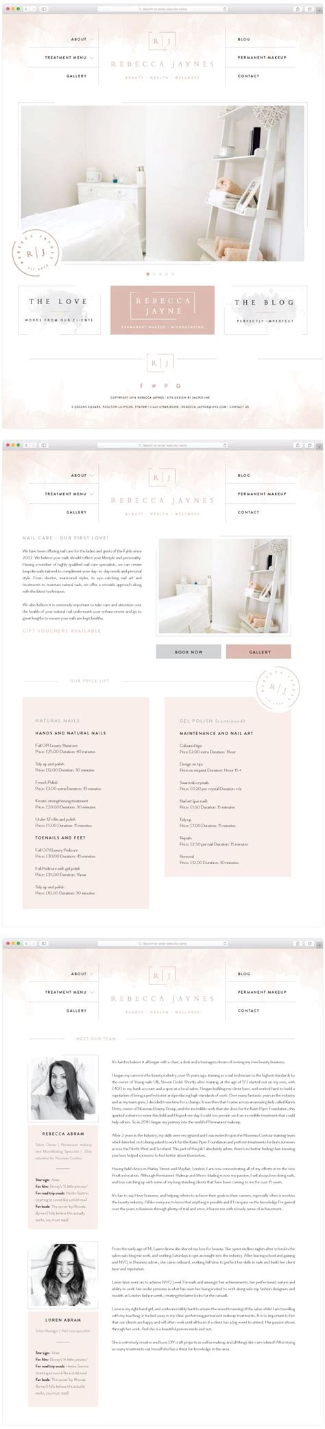 spa website inspiration 25 best ideas about salon logo on pinterest beauty