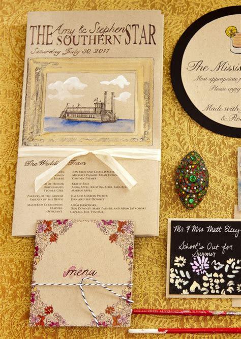 river boat wedding invitations my best friend s wedding vintage riverboat wedding