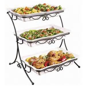 3 buffet server adjustable 3 tiered buffet server food arrangements