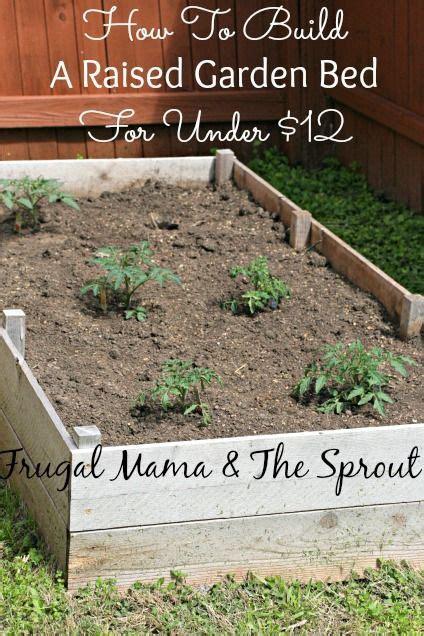 cheap raised garden beds ideas  pinterest