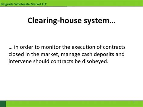 define clearing house define clearing house 28 images central clearing of otc derivatives central