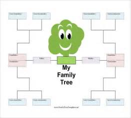 Free Templates For Family Trees by Simple Family Tree Template 25 Free Word Excel Pdf