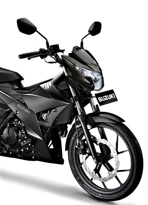 Alarm Satria F150 resmi suzuki indonesia rilis suzuki satria f150 black