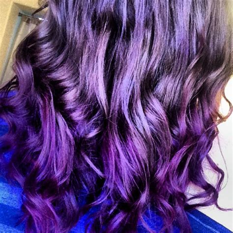 purple burgundy hair color purple hair burgundy hair curls pretty hair styles