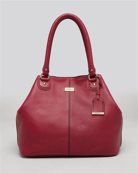 Cole Haan Medium Convertible Tote by Cole Haan Tote Convertible In Purple Winery Lyst