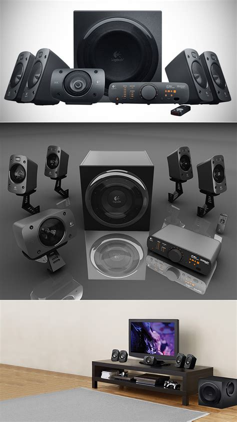 Logitech Z906 5 1 Surround Sound Speaker System don t pay 400 get logitech s z906 5 1 thx surround sound