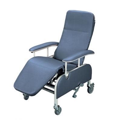 Geriatric Chairs by Lumex Tilt In Space Drop Arm Reclining Geriatric Chair