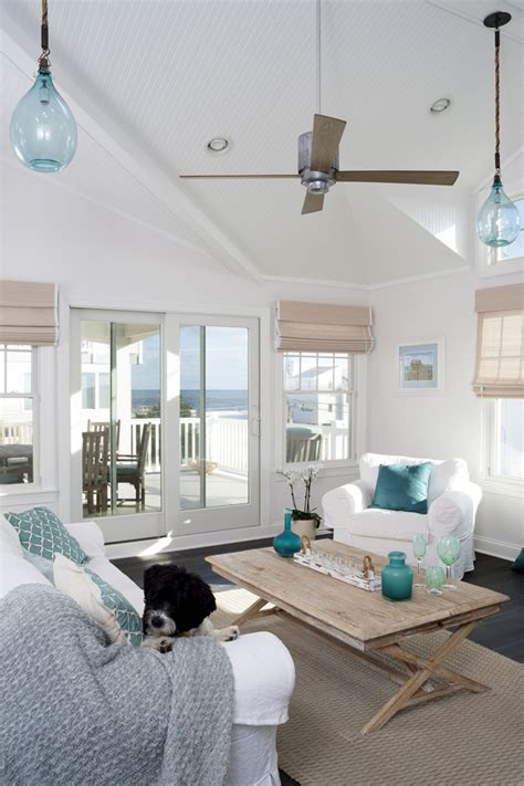 beach house living room inspirations on the horizon coastal aqua interiors