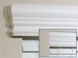 Faux Wood Window Cornice Outside Mount Blinds Valance Options