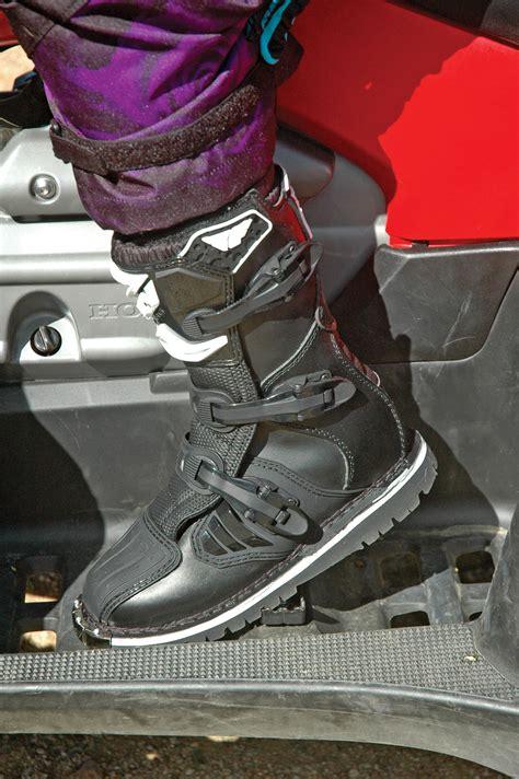 motocross half boots product fly racing maverick atv boot utv magazine