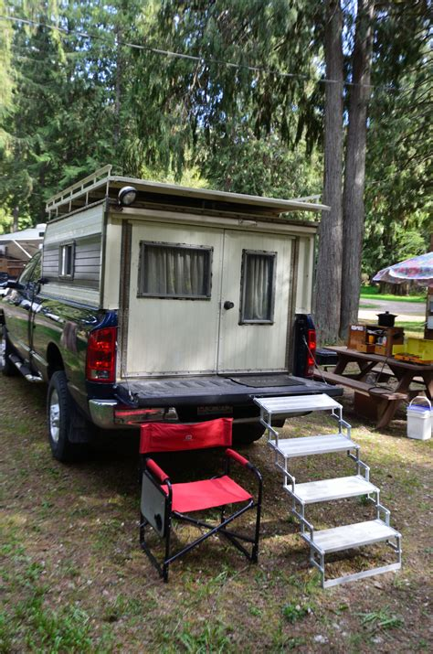 diy dodge diesel truck camper  mans story