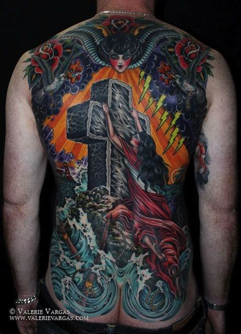age for tattoos awesome rock of ages back tradtional tattoos