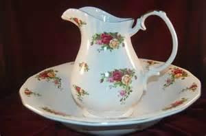 Vintage Vanity Sets Vintage Royal Albert Old Country Roses Large Water Pitcher