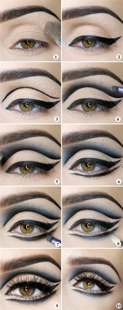 eyeliner tutorial for halloween 7 easy halloween makeup ideas for women with tutorials